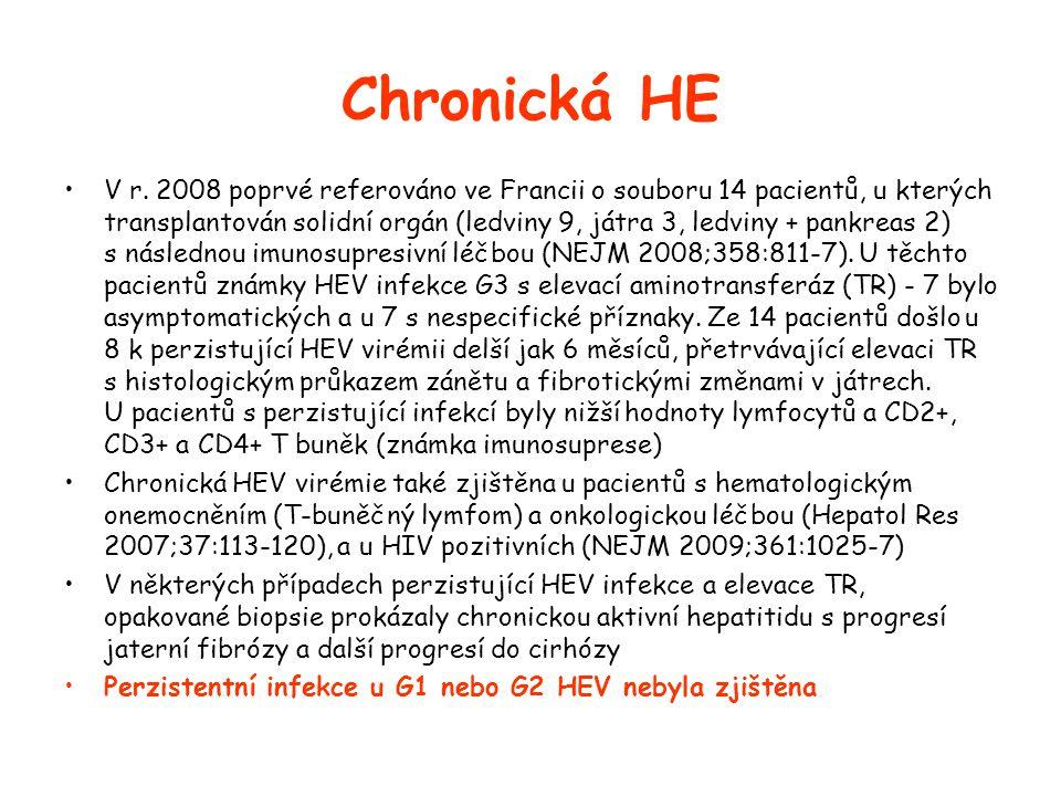 Chronická HE •V r.