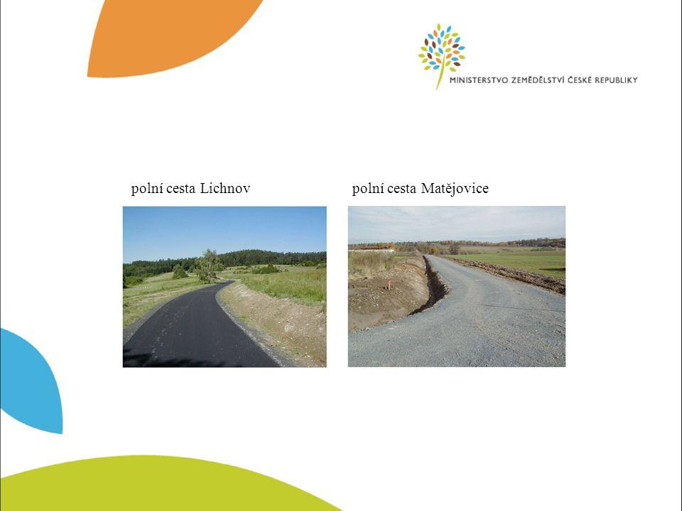 Pozemkový úřad Karviná Polní cesta s kamenným brodem – celkový pohledPolní cesta s kamenným brodem - detail