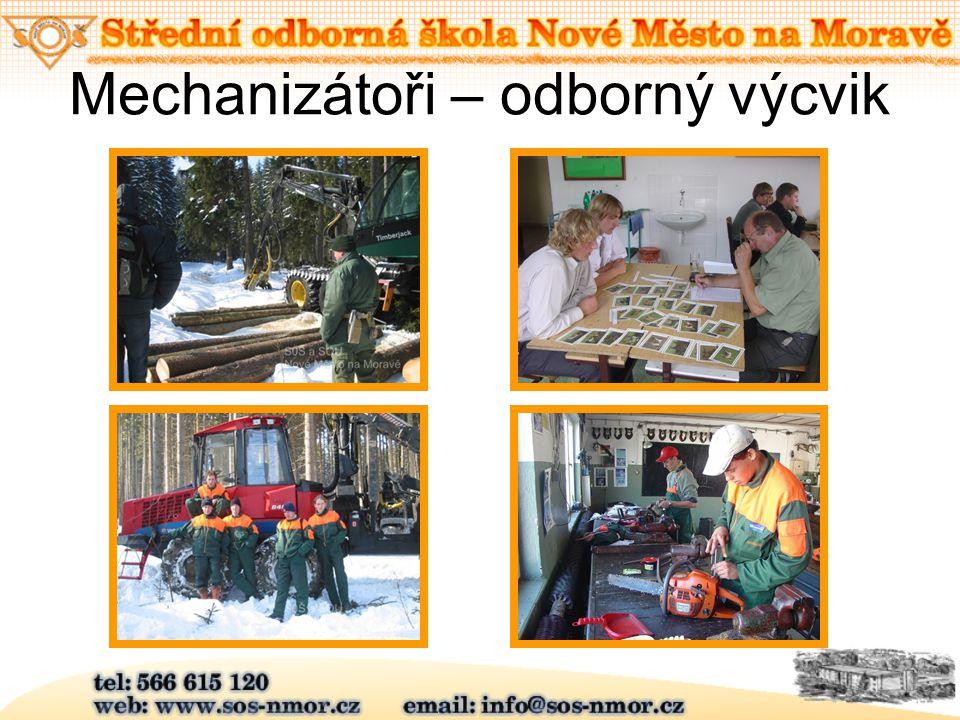 Mechanizátoři – odborný výcvik