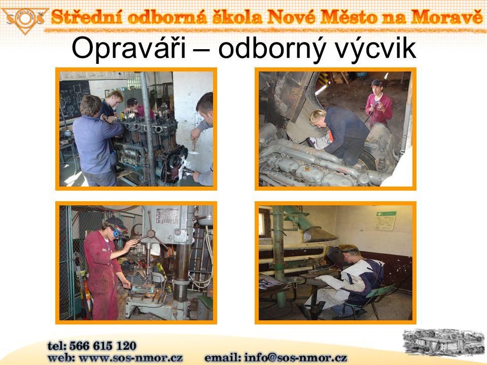 Opraváři – odborný výcvik