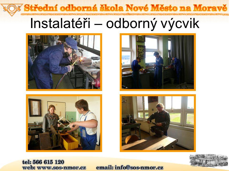 Instalatéři – odborný výcvik