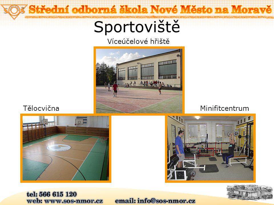 Sportoviště Víceúčelové hřiště MinifitcentrumTělocvična