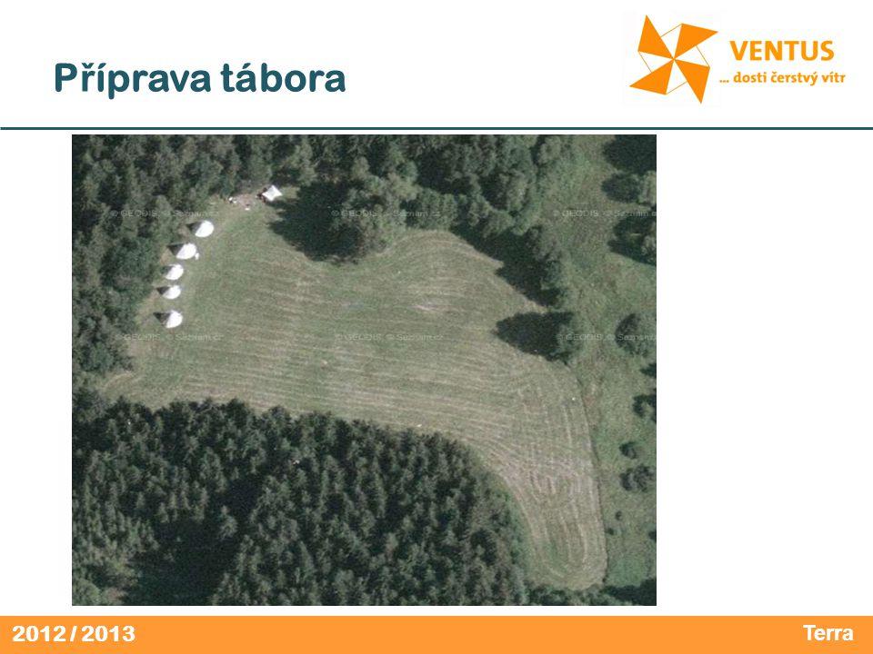 2012 / 2013 P ř íprava tábora Terra