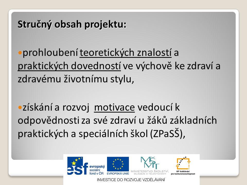 Současný stav Současný stav:  udržitelnost projektu: 5 let  pokračování spolupráce v rozsahu realizace projektu