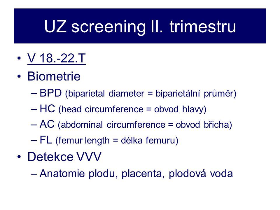 UZ screening II.