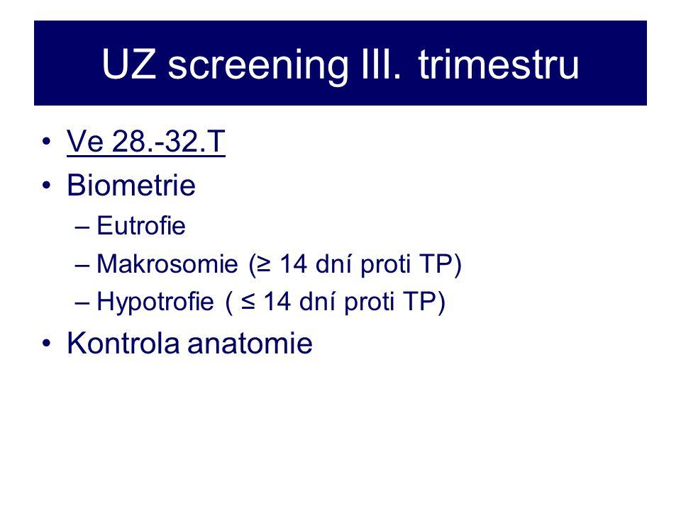 UZ screening III.