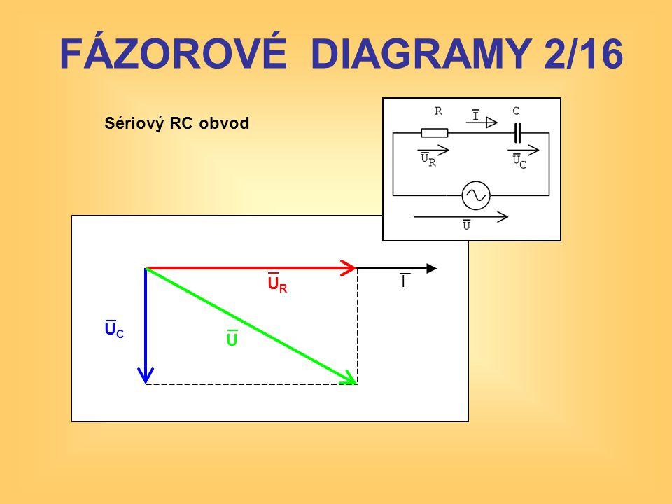 Složitější sérioparalelní RLC obvod: U složitějších obvodů jsou fázorové diagramy komplikované, nepřehledné a jejich konstrukce je náročná FÁZOROVÉ DIAGRAMY 13/16