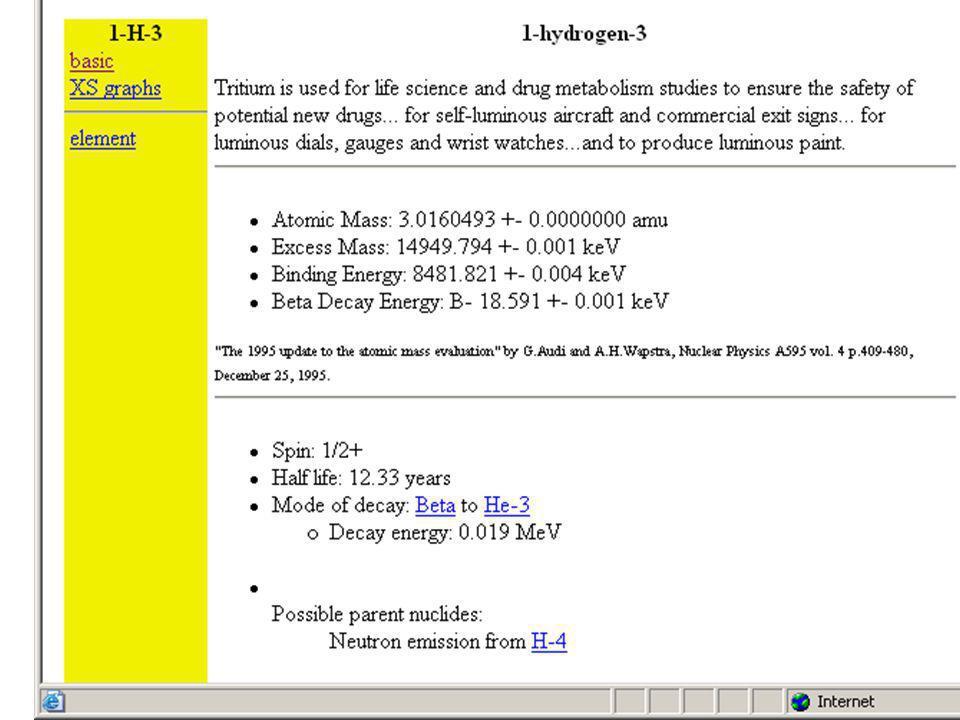 Atomová hmotnostní jednotka m u (amu) Atomová hmotnostní jednotka – definována jako 1/12 hmotnosti atomu izotopu 12 C m 12 C = 12 m u …… přesně dle definice m u = 1,6605.10 -27 kg Hmotnosti atomů se standardně udávají v násobcích m u Výhoda – hmotnosti atomů v m u jsou blízké nukleonovým číslům Stabilnější izotopy mají hmotnost mírně nižší, nestabilní větší Nebýt hmotnostního deficitu, hmotnost atomu na jeden nukleon by musela být větší než hmotnost protonu !