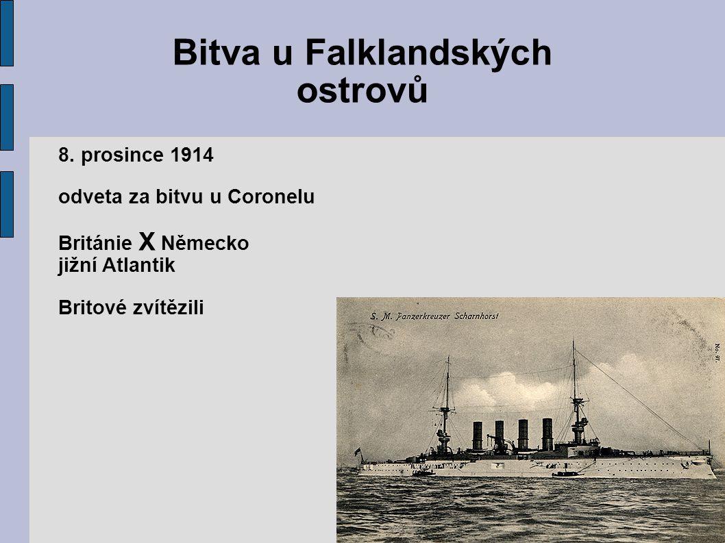 Bitva u Falklandských ostrovů 8.