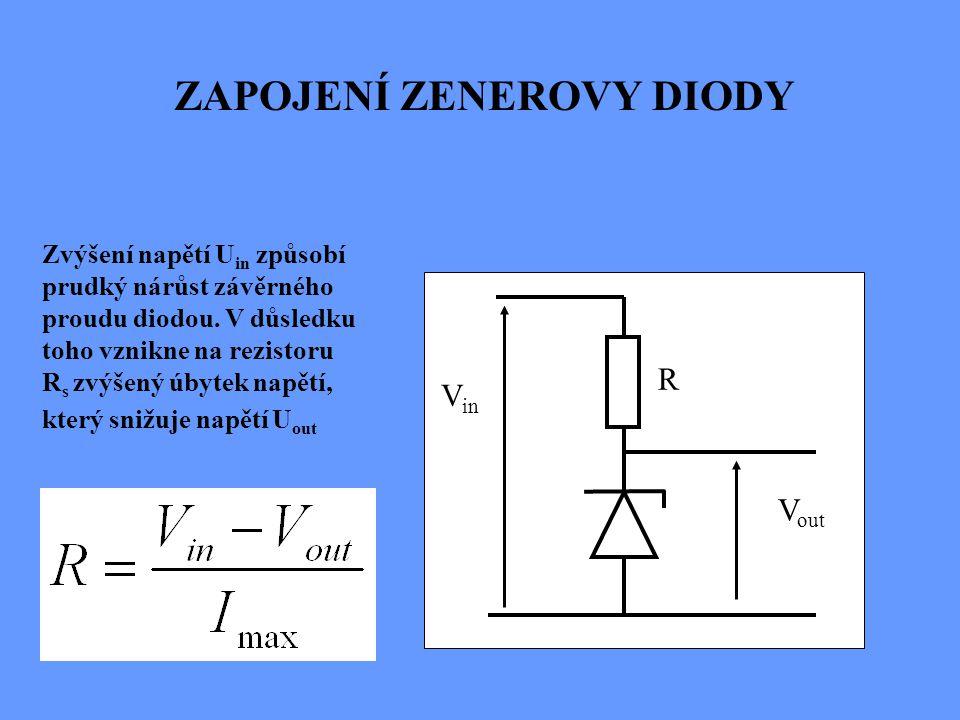 Vlastnosti stabilizátoru charakterizuje tzv. činitel stabilizace K, který vyjadřuje, kolikrát zmenší stabilizátor poměrné kolísání napětí na svém výst