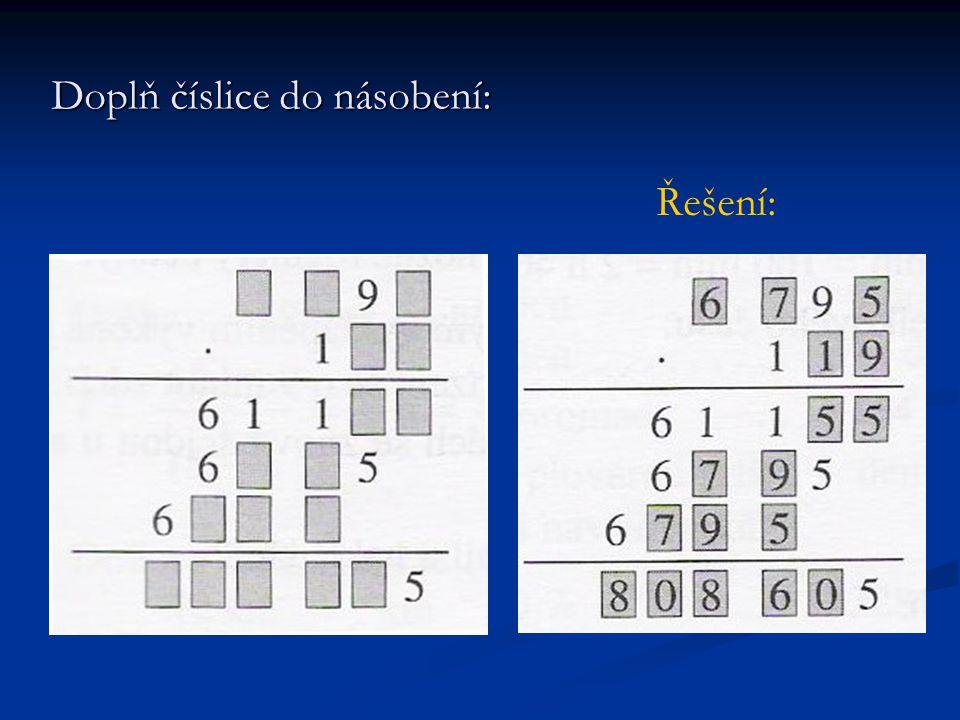 a) nejmenší šesticiferné číslo dělitelné pěti b) největší osmiciferné číslo dělitelné třemi c) nejmenší pěticiferné číslo dělitelné sedmi d) nejmenší pěticiferné číslo dělitelné stem e) nejmenší čtyřciferné číslo, ve kterém se neopakují číslice 100 125 98 752110 10 017 11 200 1 025 Máme 9 kartiček s číslicemi 1, 1, 0, 0, 2, 5, 7, 8, 9.