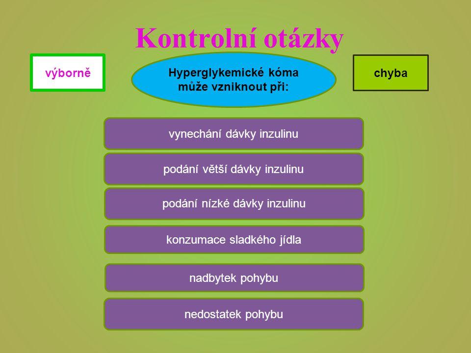 Jaké jsou příznaky hyperglykemického kóma.