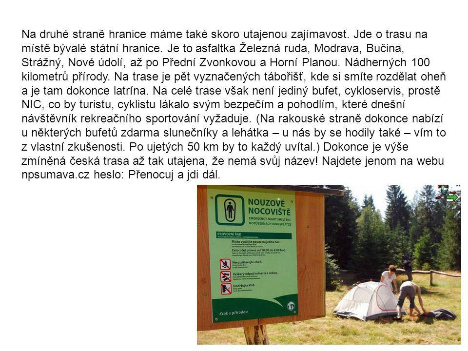Národní pýcha, turistické značení Počátky značení turistických tras spadají do konce 19.