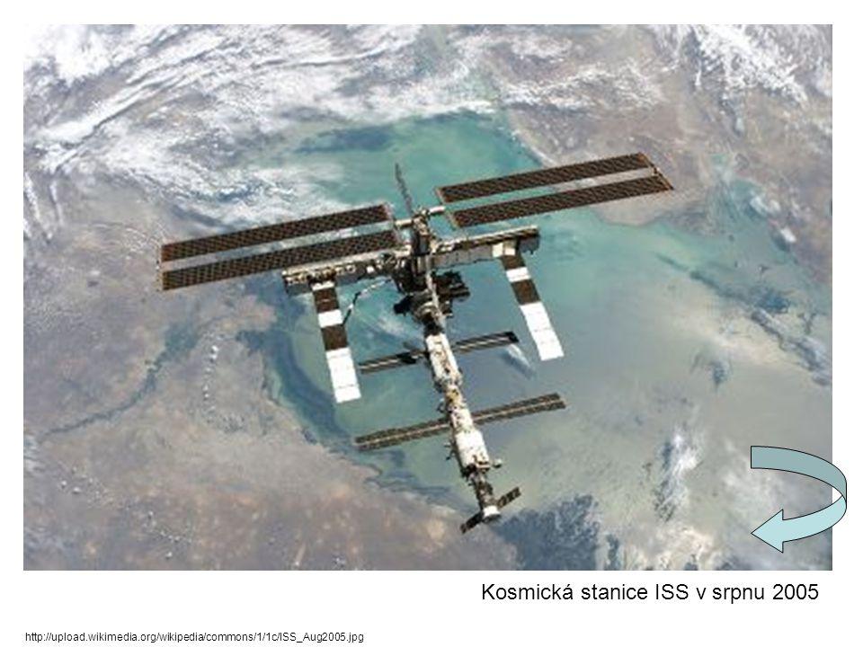http://upload.wikimedia.org/wikipedia/commons/1/1c/ISS_Aug2005.jpg Kosmická stanice ISS v srpnu 2005