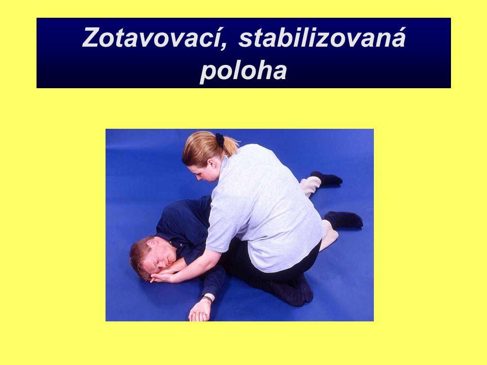 Zotavovací, stabilizovaná poloha