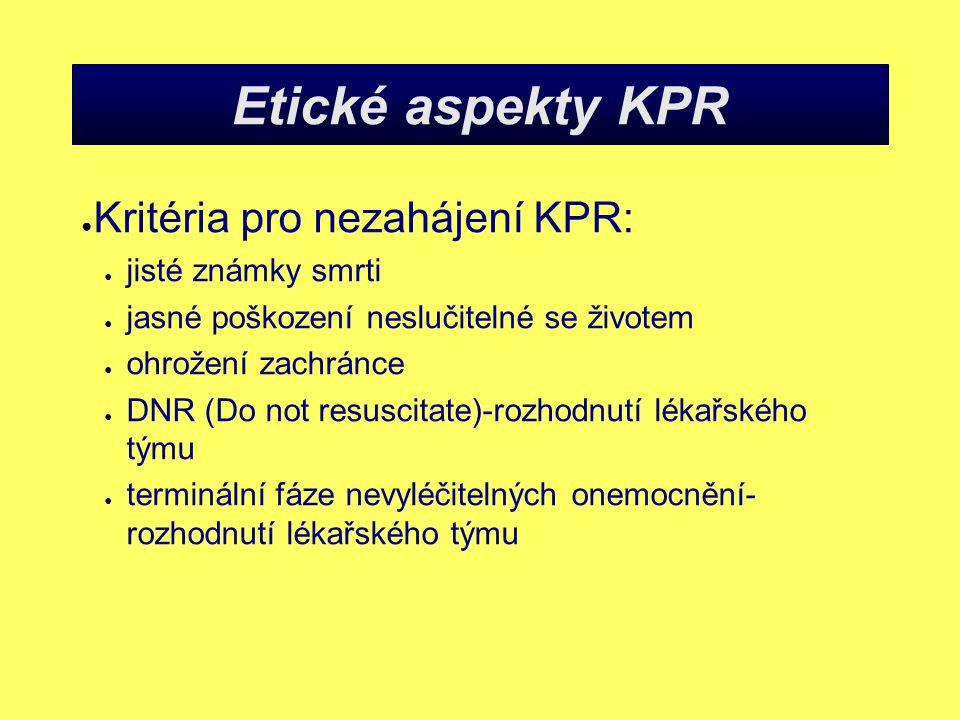 KPR-zhodnocení dýchání ● Jak.
