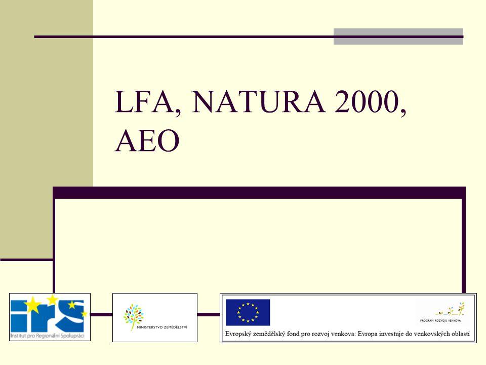 LFA, NATURA 2000, AEO