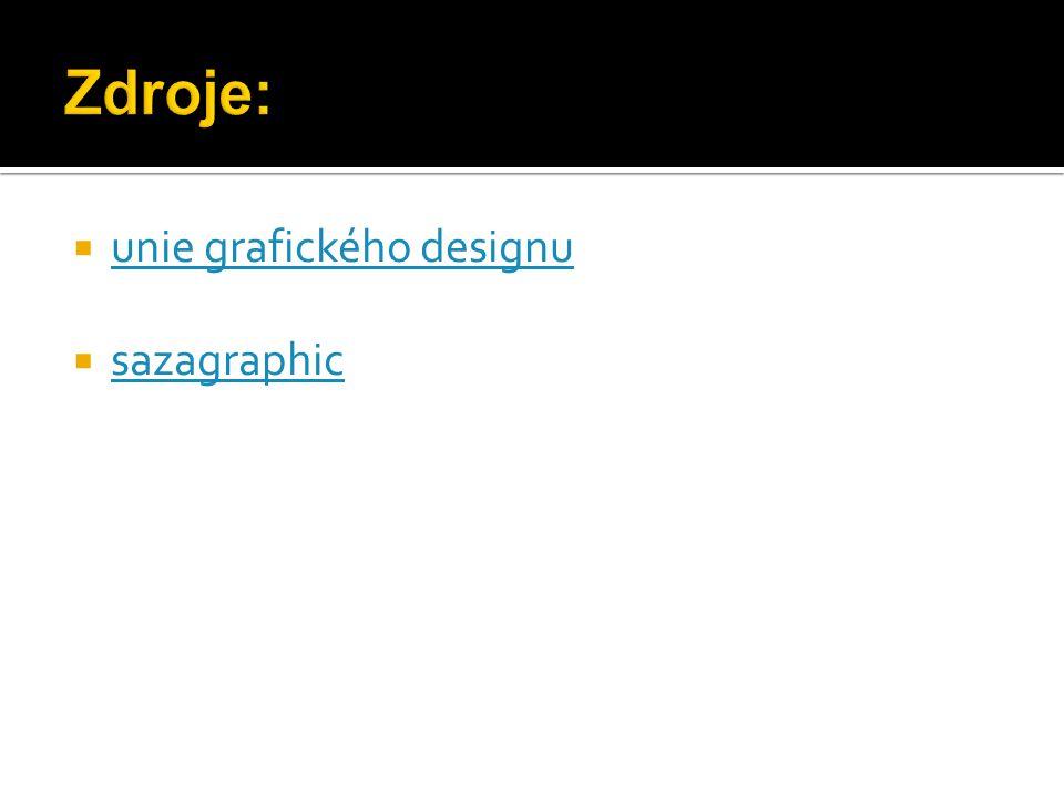  unie grafického designu unie grafického designu  sazagraphic sazagraphic