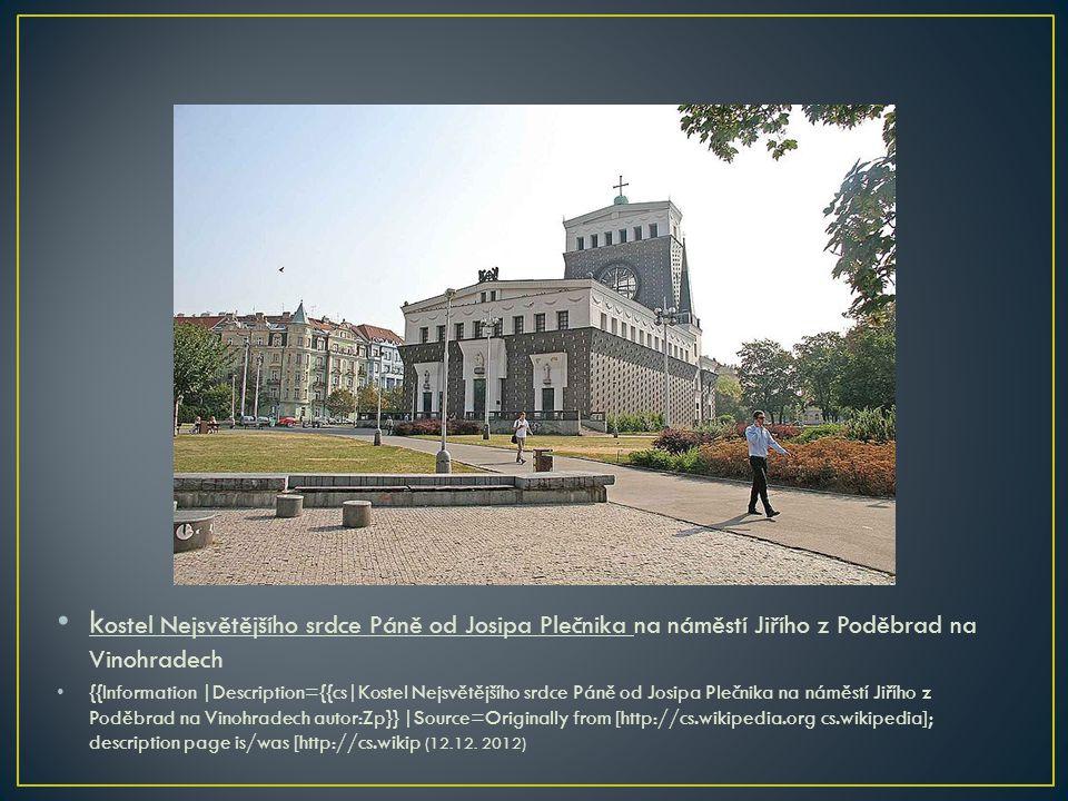 • kostel sv.Václava na náměstí Svatopluka Čecha ve Vršovicích (Praha 10).