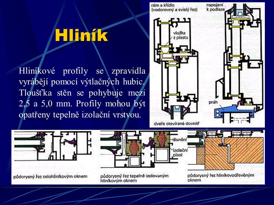 Hliník Tepelná roztažnost α je u hliníku 0,024 mm/(m.K). To znamená, že v případě zvýšení teploty asi o 55 K se u tepelně izolovaných tmavých hliníkov