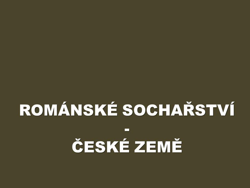 ÚVOD Výukový materiál Románské sochařství – české země obsahuje informace o podobách sochařství na našem území v 11.-13.
