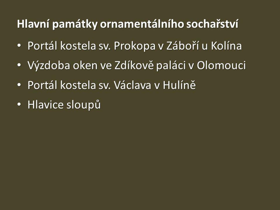 Mostecký reliéf • 2.pol. 12.