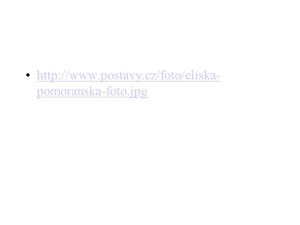 •http://www.postavy.cz/foto/eliska- pomoranska-foto.jpghttp://www.postavy.cz/foto/eliska- pomoranska-foto.jpg