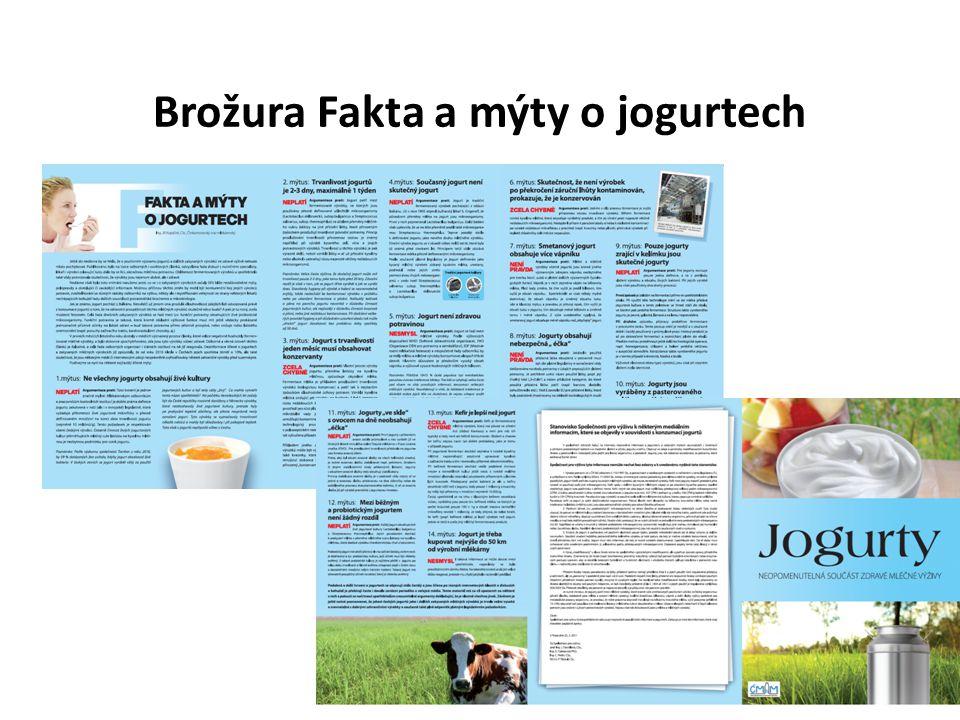Brožura Fakta a mýty o jogurtech