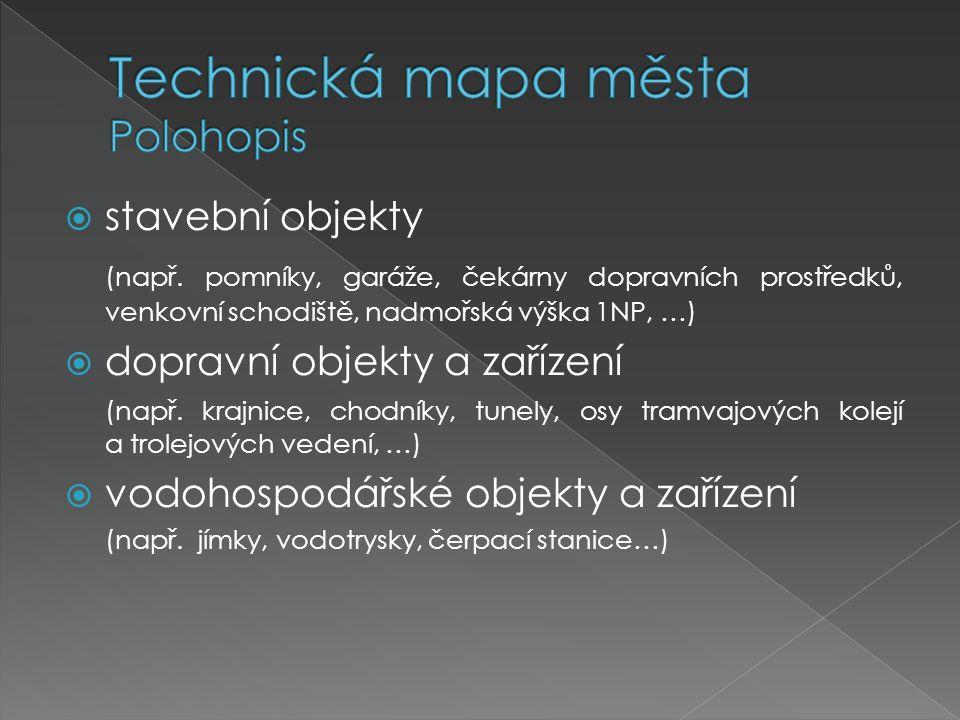  systém: S-JTSK, Bpv  třída přesnosti: 2.popřípadě 3.