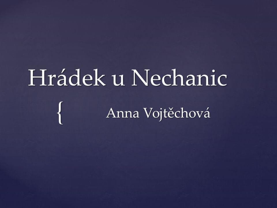 { Hrádek u Nechanic Anna Vojtěchová
