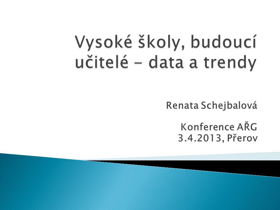 Renata Schejbalová Konference AŘG 3.4.2013, Přerov
