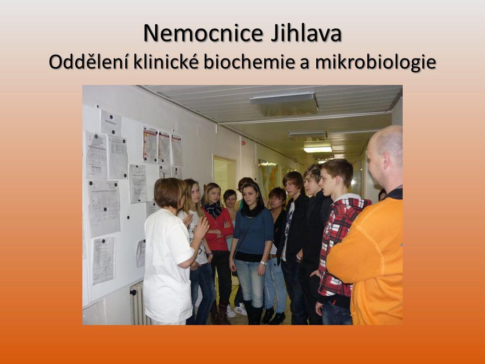 Nemocnice Jihlava Oddělení klinické biochemie a mikrobiologie