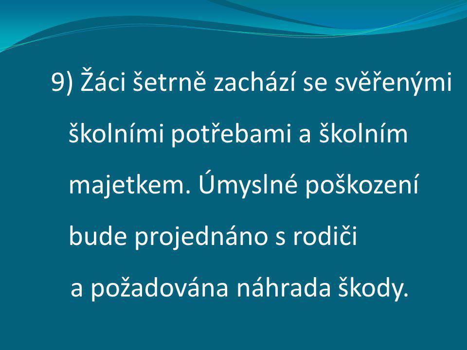 Zdroje: • Školní řád ZŠ a MŠ Ústí nad Labem, Nová 1432/5; www.zsnova.czwww.zsnova.cz • Obrázky použité v prezentaci jsou dostupné pod licencí Microsoft Office 2010 na Office.com.