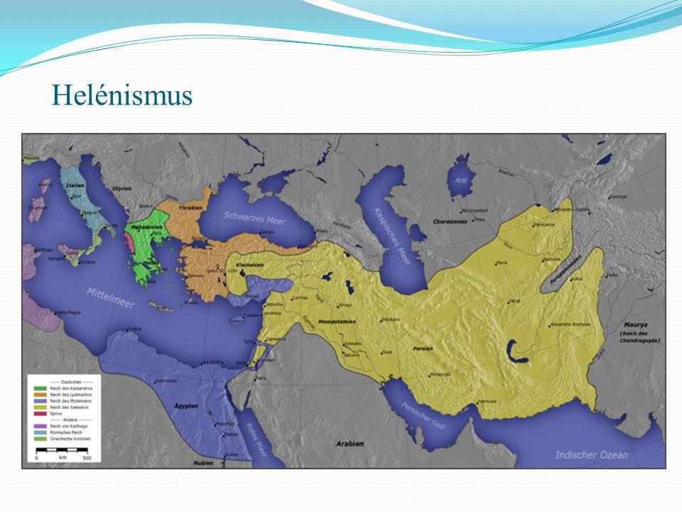 -Helénismus je novodobé označení období starověkých dějin antického Středomoří a území Předního východu ovládaných řecko-makedonskými dynastiemi přibližně od poloviny 4.