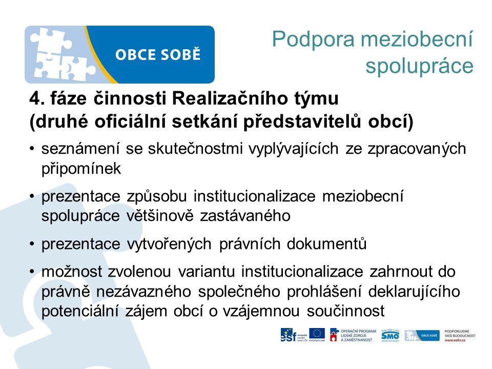 Podpora meziobecní spolupráce 4.