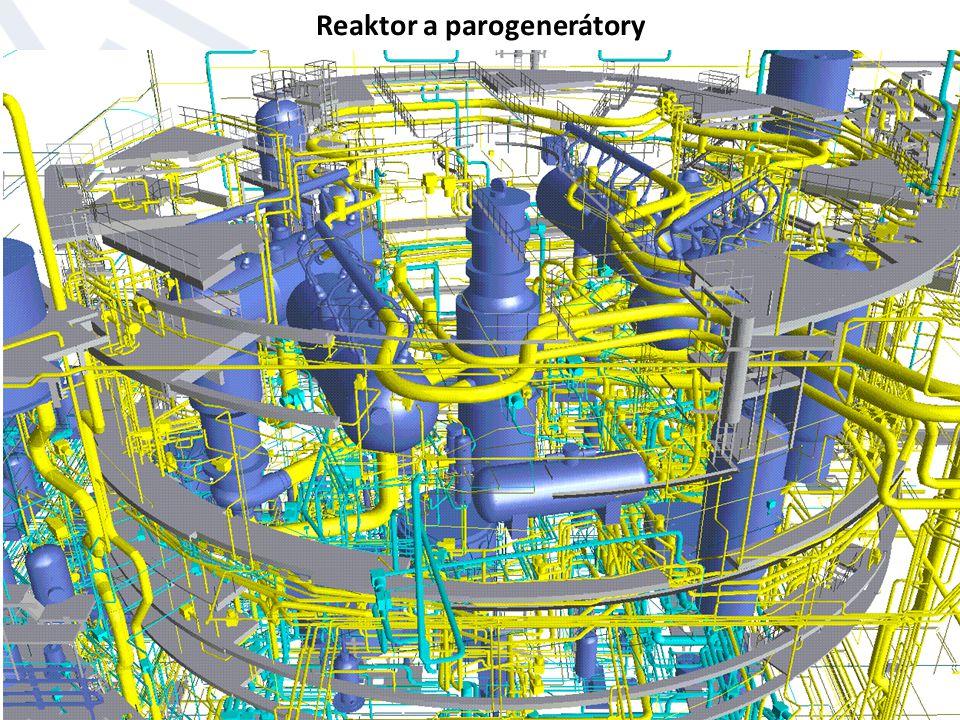 Reaktor a parogenerátory