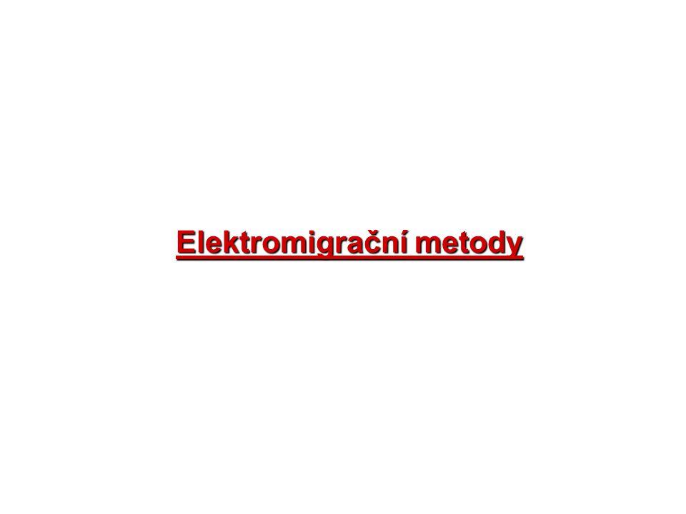 Elektromigrační metody