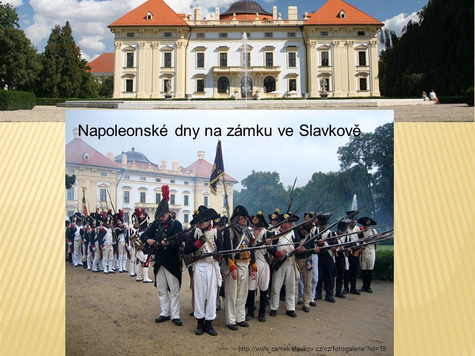 Napoleonské dny na zámku ve Slavkově http://www.zamek-slavkov.cz/cz/fotogalerie/?id=19