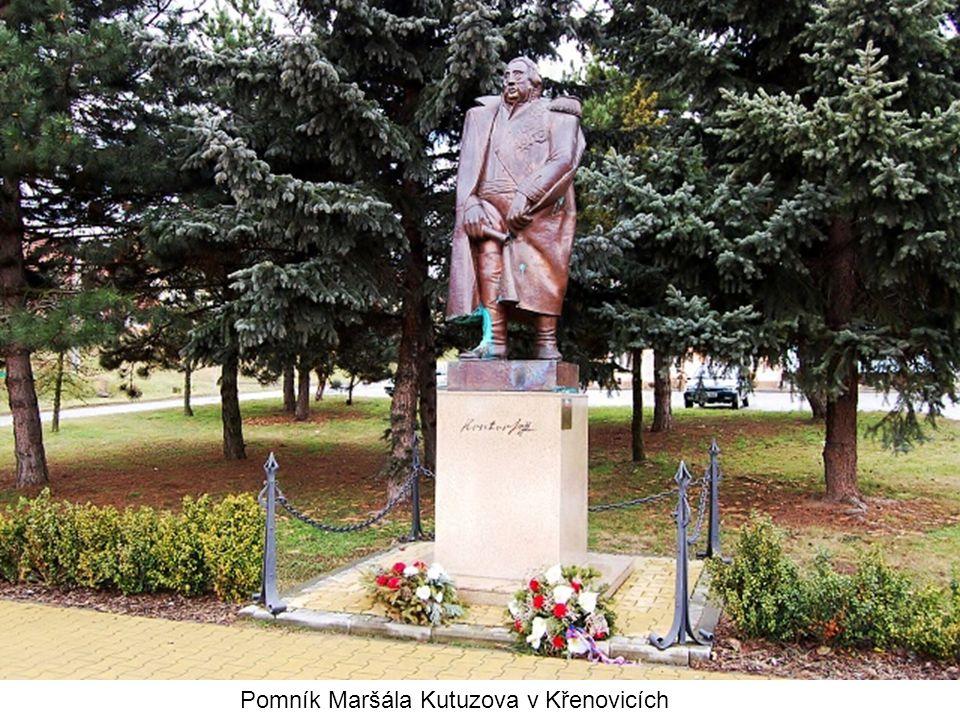 Pomník Maršála Kutuzova v Křenovicích