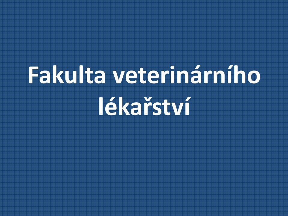 Fakulta veterinárního lékařství Přijímací řízení Bodové hodnocení prospěchu ze střední školy Max.