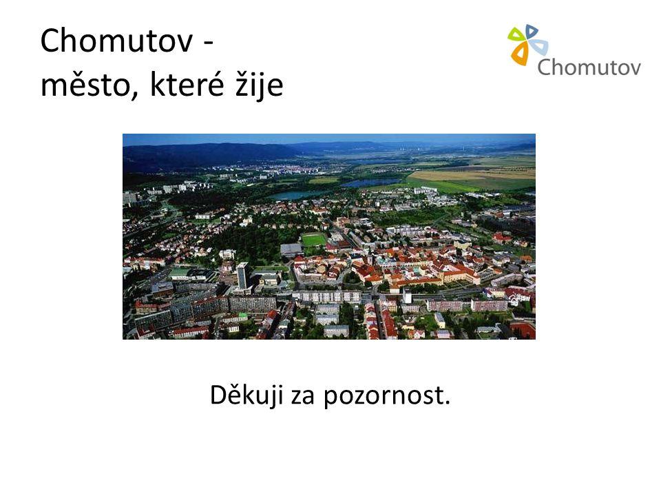 Chomutov - město, které žije Děkuji za pozornost.