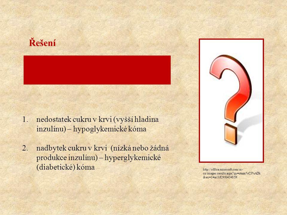 http://office.microsoft.com/cs- cz/images/results.aspx?qu=otazn%C3%ADk &ex=1#ai:MC900434859| Inzulín je hormon, který reguluje množství cukru v krvi.