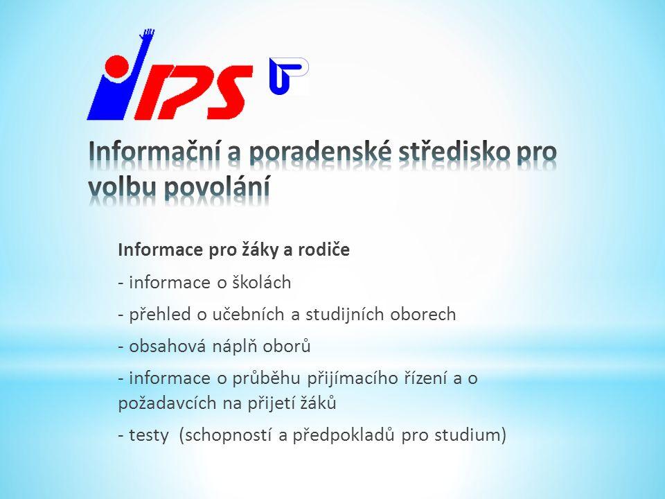 • Další studium - VOŠ, VŠ, nástavby, studium jazyků.