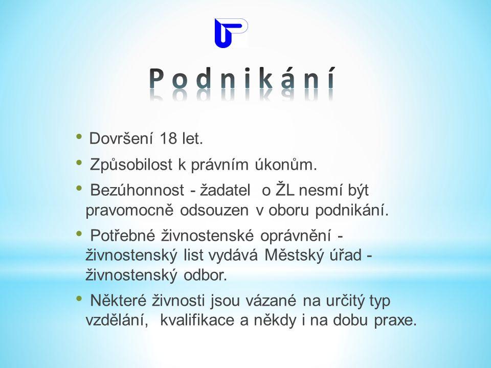 Zpracoval Ing. Malkovský