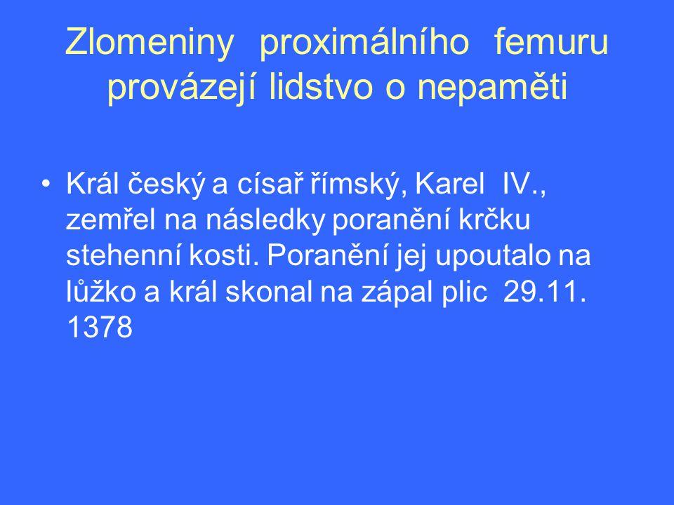 Cervikokapitální endoprotéza