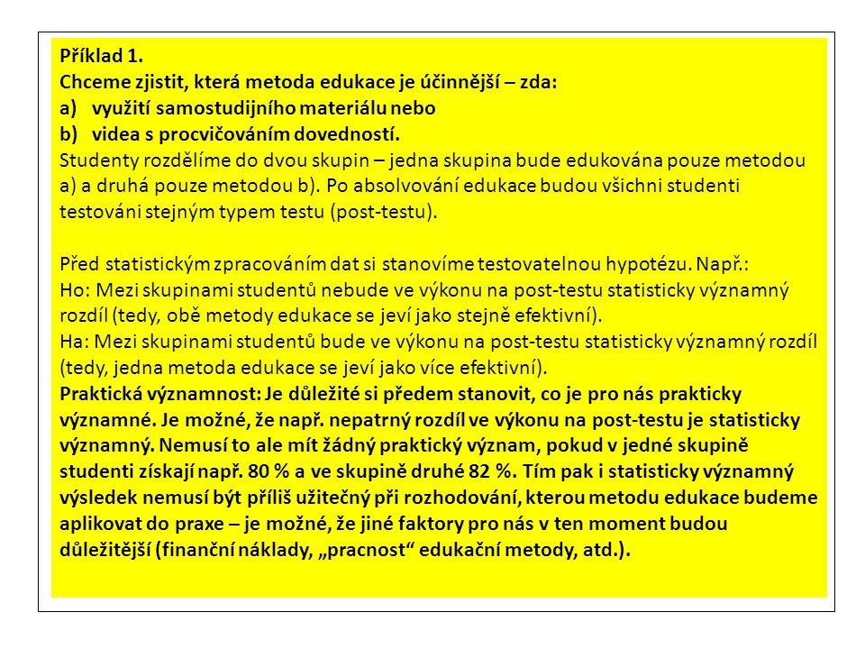 "Klikneme ""Analyze – ""Descriptive Statistics – ""Crosstabs"
