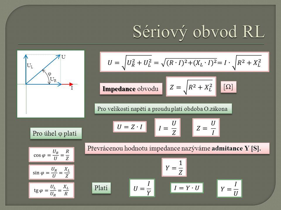 Rezonanční frekvenci lze zjistit z rovnosti vyměňovaných výkonů L a C.