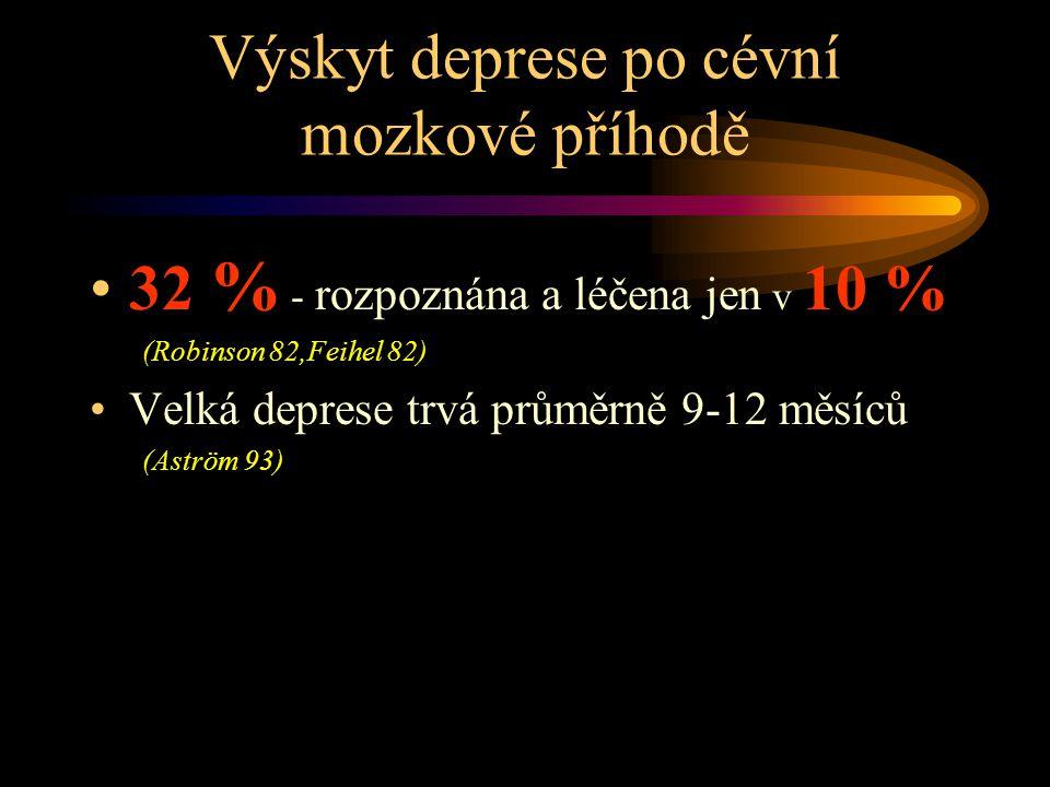 Deprese .