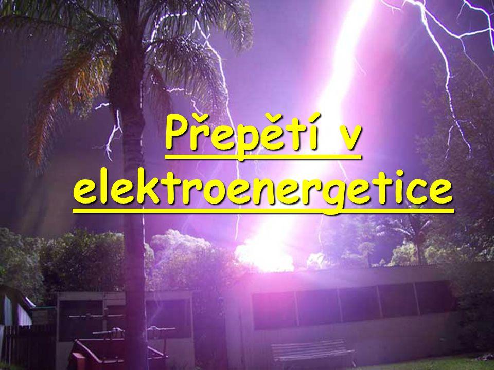 Působení bleskojistky Rázový impuls 1,2/50  s, U max = 17 kV (průběh napětí bez bleskojistky) Zbytkové napětí bleskojistky - 5kV Zapalovací napětí - 10 kV Působení bleskojistky