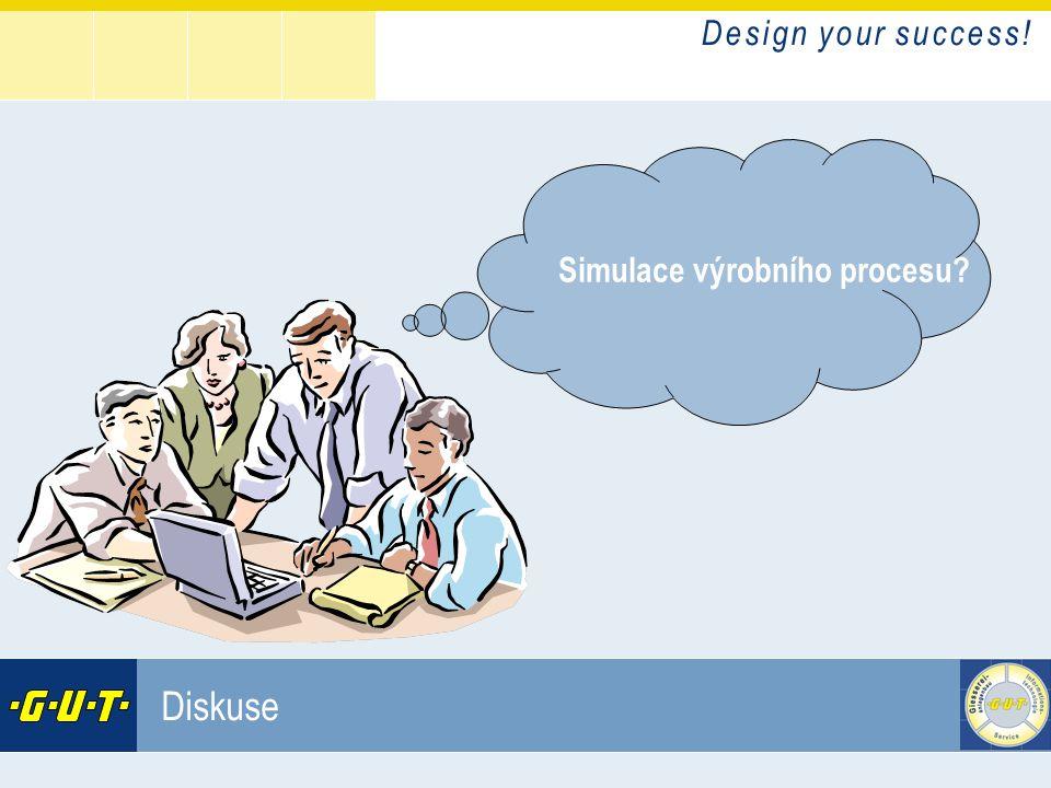 D e s i g n y o u r s u c c e s s ! GIesserei Umwelt Technik GmbH Diskuse Simulace výrobního procesu?